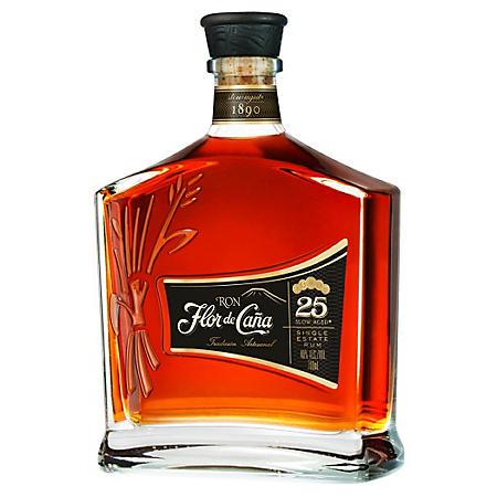 Flor de Cana 25 Years Rum (750 ml)