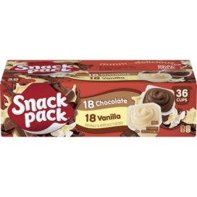 Snack Pack Pudding Variety Pack (3.25 oz., 36 pk.)