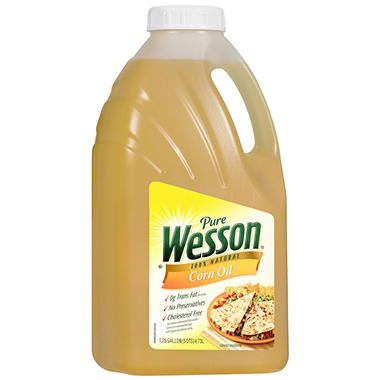 Wesson Corn Oil - 5 qt.