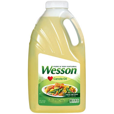 Wesson Pure Canola Oil (5 qts.)