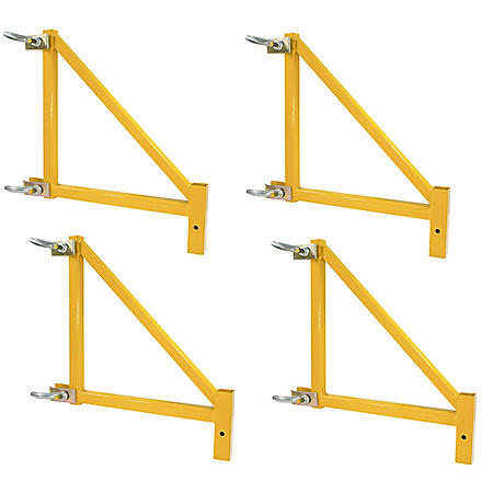 "Pro-Series 18"" Scaffolding Outriggers, Set of 4"