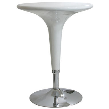 Amerihome modern adjustable height bar table sleek white sams club amerihome modern adjustable height bar table sleek white watchthetrailerfo