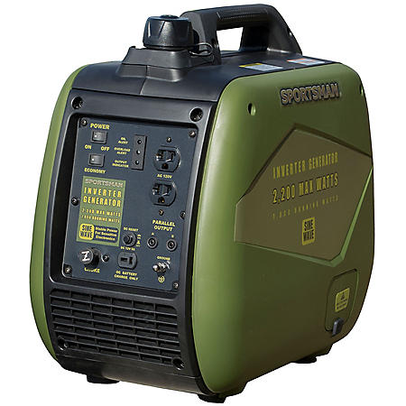 Sportsman 1,800 / 2,200 Watt Digital Inverter Gasoline Generator with Parallel Capability - CARB Approved