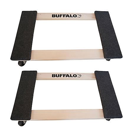 Buffalo Tools 1000 Lbs. Furniture Dolly 2-Piece Set