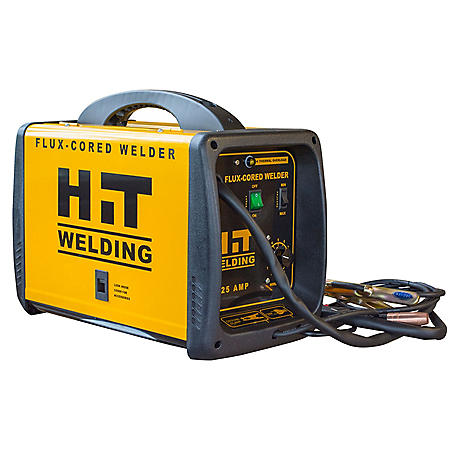 HIT 125 Amp Flux-Cored 120V Welder