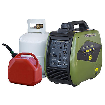 Sportsman 2200 Watt Dual-Fuel Inverter Generator for Sensitive Electronics