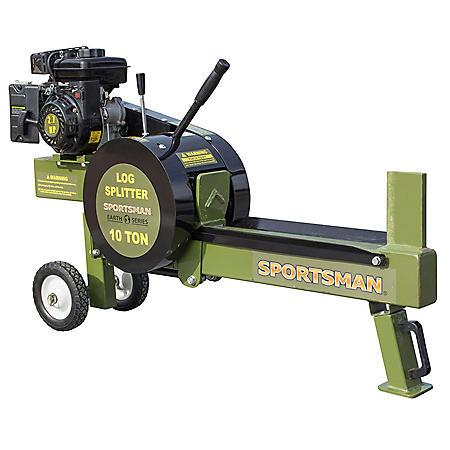 Sportsman Earth Series 10-Ton Gas-Powered Kinetic Log Splitter