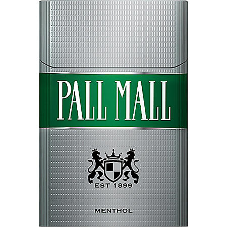 Pall Mall Silver Menthol 100s Box (20 ct., 10 pk.)