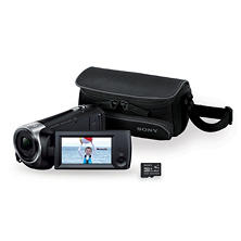 Sony HDRCX440BSAM Full HD 60p Camcorder Bundle