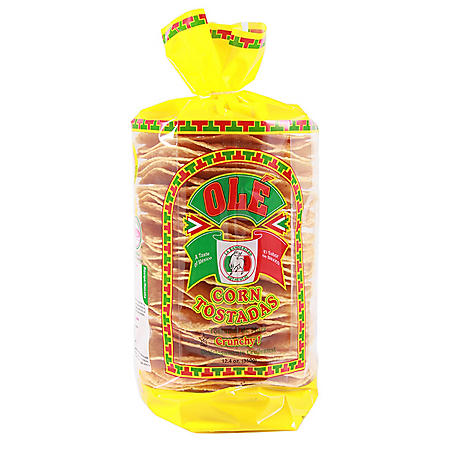 Ole Corn Tostadas (30 ct., 12.4 oz.)