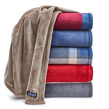 IZOD Plush Throw (Assorted Colors)