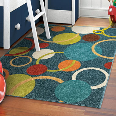 Circles in the Sky Area Rug