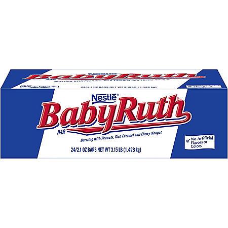 Baby Ruth Candy Bar (2.1 oz., 24 ct.)