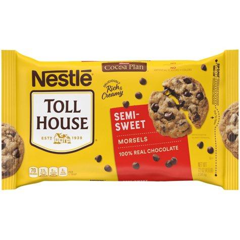 Nestle Chocolate Semi-Sweet Morsels (72 oz.)