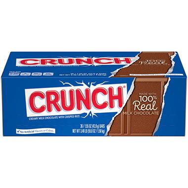 nestle crunch candy bar 36 ct sam 39 s club. Black Bedroom Furniture Sets. Home Design Ideas