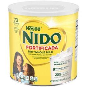 Nestle Nido Fortificada Powdered Milk Drink (4.85 lb.)