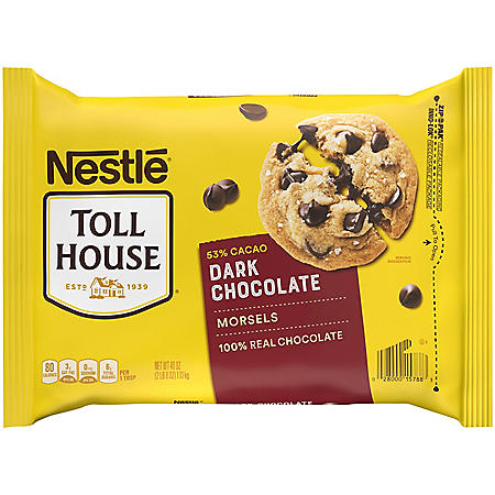 NESTLE TOLL HOUSE Dark Chocolate Morsels (40 oz.)