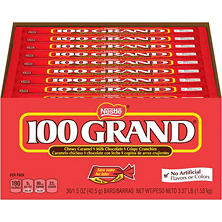 Nestle 100 Grand Milk Chocolate Candy Bar (36 ct.)