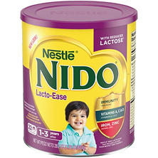 Nestle NIDO Kinder Lacto-Ease 1+ Powdered Milk Beverage (1.76 lb., 6 pk.)