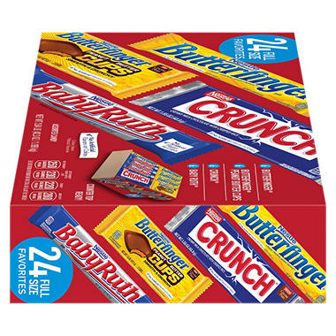 Nestle Chocolate Candy Bar Variety Pack 42 3 Oz 24 Ct