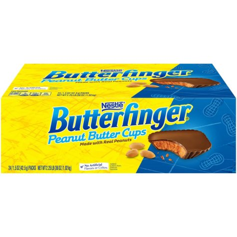 Butterfinger Cups Singles (2 piece cups, 24 ct.)