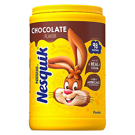 NESQUIK Chocolate Powder Canister (44.9 oz.)