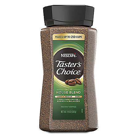 NESCAFE Taster's Choice Decaf House Blend Instant Coffee (14 oz.)