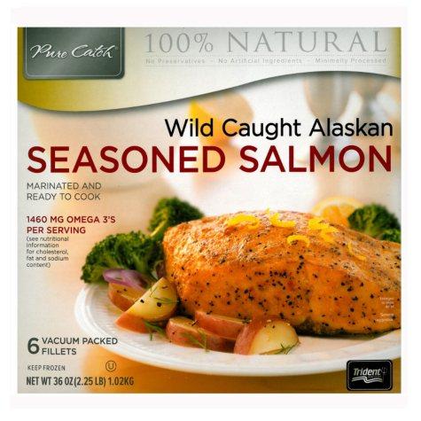Marinated Salmon Portions