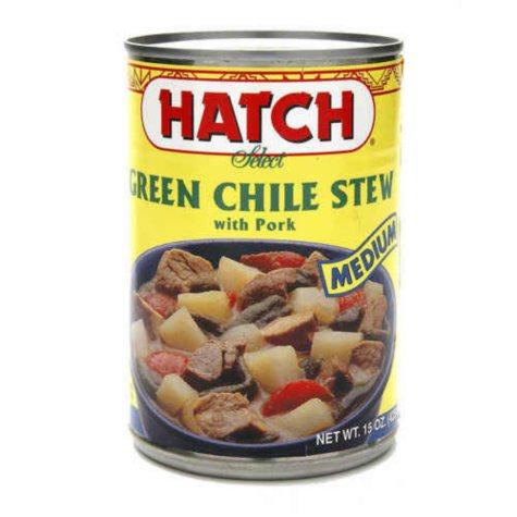 Hatch Green Chile Stew - 6/15 oz.