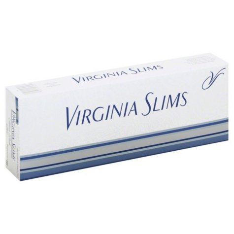 Virginia Slims Silver 100s Box (20 ct., 10 pk.)