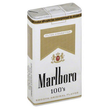 Marlboro Gold 100's Soft Pk. (20 ct., 10 pk.)