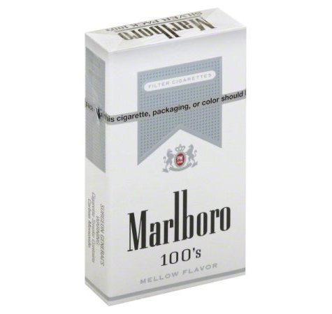 Marlboro  Silver 100s 1 Carton