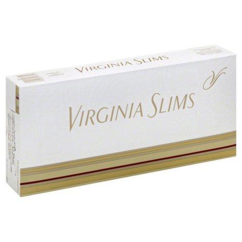 Virginia Slims Gold 120s Box (20 ct., 10 pk.)