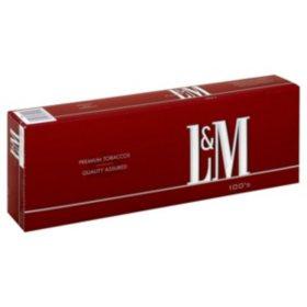 L&M 100s Box (20 ct., 10 pk.)