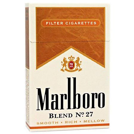 Marlboro Blend No. 27 100s Box (20 ct., 10 pk.) $0.50 Off Per Pack