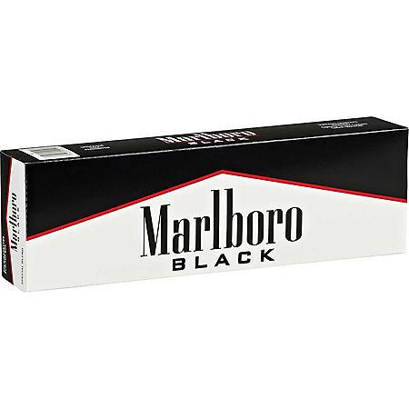 Marlboro Black Label Kings Box (20 ct., 10 pk.) $0.50 Off Per Pack