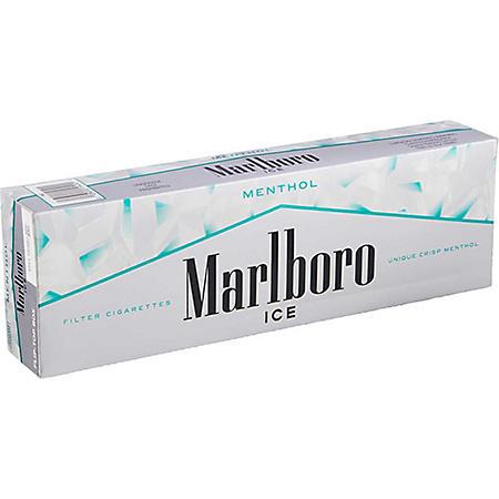 Marlboro Menthol Ice Kings Box (20 ct. 10 pk.) $0.50 Off Per Pack