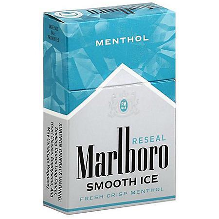 Marlboro Menthol Smooth Ice King Box (20 ct., 10 pk.) $0.50 Off Per Pack