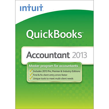 QuickBooks Accountant 2013