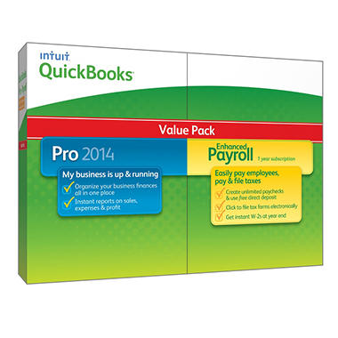QuickBooks Pro with Enhanced Payroll 2014