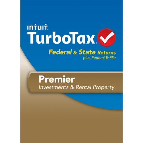 TurboTax Premier Federal + E-File + State 2013
