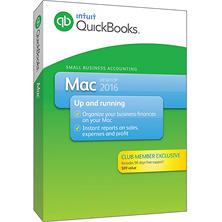 Intuit QuickBooks Mac 2016 +90 days of Support