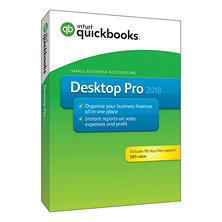 QuickBooks Desktop Pro 2018 with 90 Days Free Support (PC Disc)