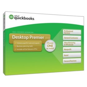 QuickBooks Desktop Premier 2018 (PC Disc)
