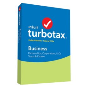 TurboTax Business 2017 Fed + Efile (PC Disc)