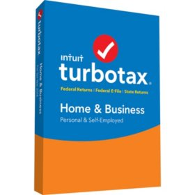TurboTax Home & Business 2018 Fed+Efile+State (PC/Mac Disc)