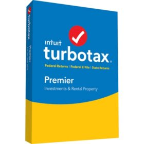 TurboTax Premier 2018 Fed + Efile + State (PC/Mac Disc)