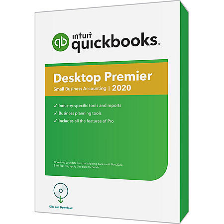 QuickBooks Desktop Premier 2020 (PC Disc)