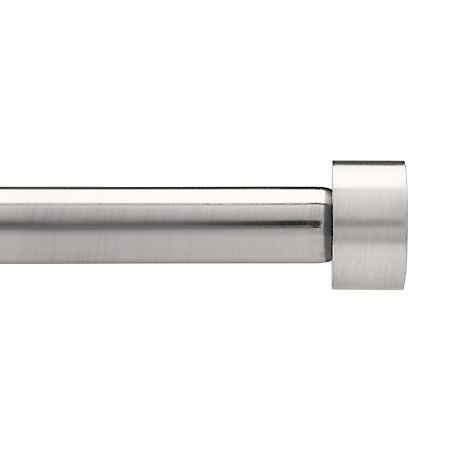 "Umbra Simple Cap Drapery Rod Set (Nickel, 3/4"" Dia.)"