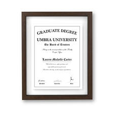 "Umbra 3-Pack Document Photo Frames, 11"" x 14"", Select Frame Finish"
